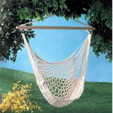 cotton hanging hammock bed swinging camping air chair hanging tree
