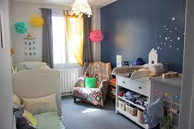 chambre garcon bleu déco chambre bébé garcon bleu