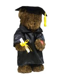 graduation bears brown singing graduation bears w robe cap illinois central