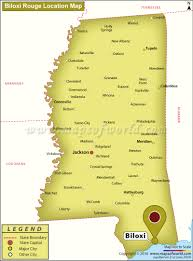 Mississippi Map Usa is biloxi mississippi