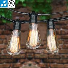 Edison Patio Lights Diy Edison String Lights Outdoor Edison String Lights Outdoor