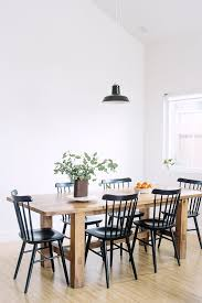 black dining table chairs unexpected guests nathiya prathnadi dining georgian townhouse