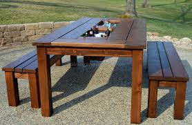 outdoor dining table plans outdoor dining table plans free with regard to diy designs 25