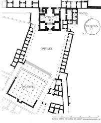 Winter Palace Floor Plan by The Umayyad Baths At Amman Citadel And Hammam Al Sarah