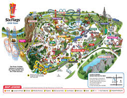 Six Flags Los Angeles Six Flags Vallejo Map Las Vegas Hotels Map Tv Signal Map