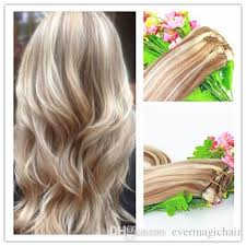 hot hair extensions balayage ombre clip in remy human hair extension golden