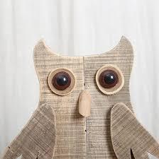 simple original modern wooden animal desktop ornaments handmade