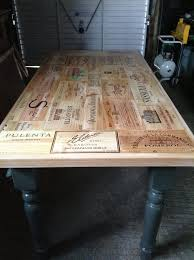 How To Make Wine Crate Coffee Table - 25 unique wooden wine crates ideas on pinterest wooden wine