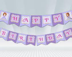 sofia the birthday sofia the birthday etsy