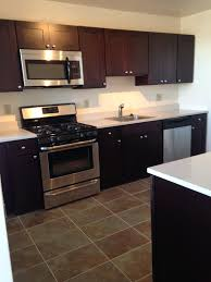 kitchen omicron granite countertop with graff faucets and black