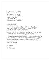 last minute resignation letter 8 free word pdf documents