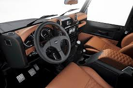 customized range rover interior land rover defender startech sixty8 by brabus 5 my bronco