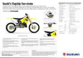 tm rm rmx dave u0027s bike brochures