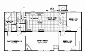 new home floor plans 3 bedroom double wide floor plans single mobile home 2 and pictures