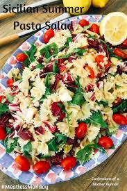 summer pasta salad meatless monday