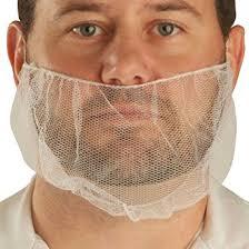 beard nets ultrasource beard nets free polypropylene honeycomb 18