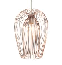 Wire Chandelier Diy Contemporary Copper Wire Hanging Ceiling Light Pendant Chandelier