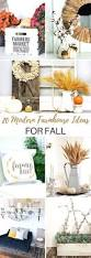 Decorating Your Home For Fall 451 Best Home Decor For The Season Images On Pinterest Merry