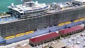 Largest Cruise Ship Royal Caribbean Allure Of The Seas Tour Largest Cruise Ship In