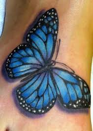 72 gorgeous butterfly tattoos design blue butterfly