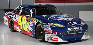 paint schemes behind the wall jimmie johnson