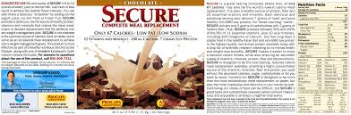secure meal replacement 10073255 hsn