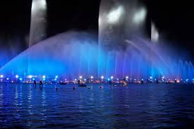water fountain with lights water fountain light music show in suzhou inground pool lights