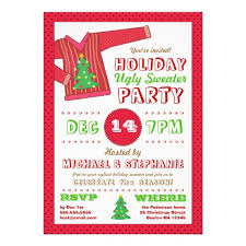 ugly sweater party invitation dancemomsinfo com
