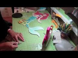 little mermaid two foot centerpiece youtube