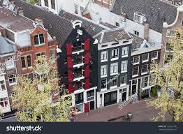 dutch style row houses amsterdam holland stock photo 152227706