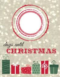 days until christmas sign christmas npb ideas pinterest