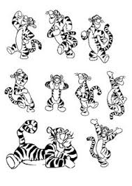 tigger color book pages yahoo image results tigger