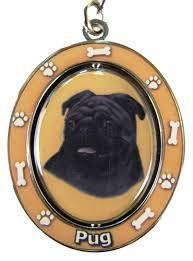 affenpinscher keychain black pug dog key chain by e u0026s imports
