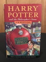 harry potter philosophers stone edition ebay