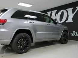 jeep altitude for sale 2017 jeep grand altitude silver suv for sale the