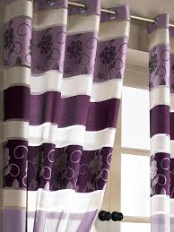 Silver Purple Curtains Curtains And Drapes Purple Decorate The House With Beautiful