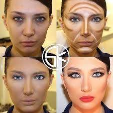 Makeup Contour how to highlight and contour for a makeup alldaychic