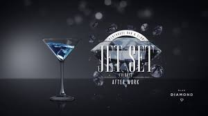 martini bar logo jet set fridays afterwork at blue diamond penthouse bar and club
