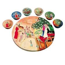 passover seder plates passover seder plate yair emanuel wedding seder matza plates