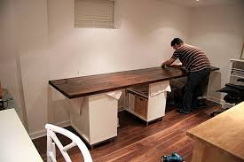 Diy Office Desks Diy Home Office Desk Bonners Furniture