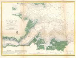 york map us file 1857 u s coast survey map or chart of the entrance to the