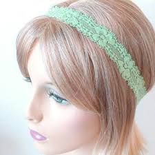 mint green headband best thin lace headbands products on wanelo
