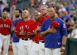 Jeff Banister Rangers Fire Bullpen Coach Exercise U002719 Option On Banister