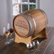 personalized wedding barrel wine enthusiast