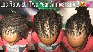 styling two year hair kids loc retwist style my sons two year loc anniversary