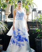 ultra romantic floral wedding dresses martha stewart weddings
