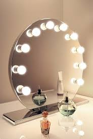 Table Vanity Mirror With Lights Bathroom The Most Awesome Vanity Mirror Makeup Attractive With
