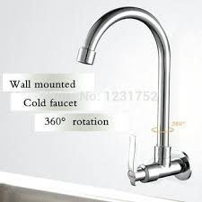 wall mounted faucet kitchen single cold water faucet buy free shipping single cold water wall