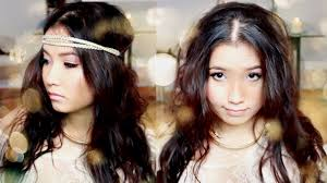 hippie hair bands easy no heat beachy curls waves accessorizing to get bohemian