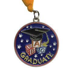 graduation medallion kindergarten graduation medal gradshop